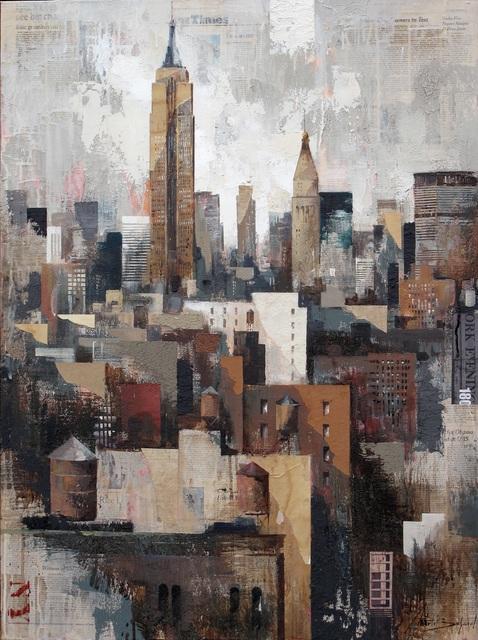 , 'Collage under Manhattan,' , Villa del Arte Galleries