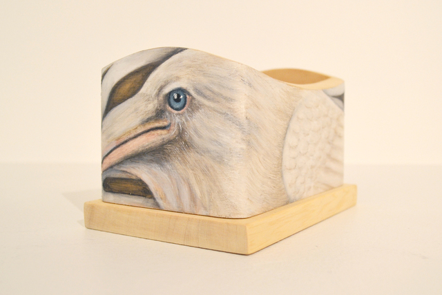 , 'White Raven Box,' 2014, Fazakas Gallery