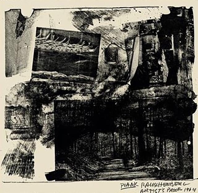 Robert Rauschenberg, 'Plank', 1964, Jim Kempner Fine Art