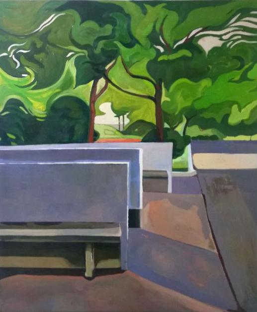 , 'A Park 某个公园,' 2014, Vanguard Gallery