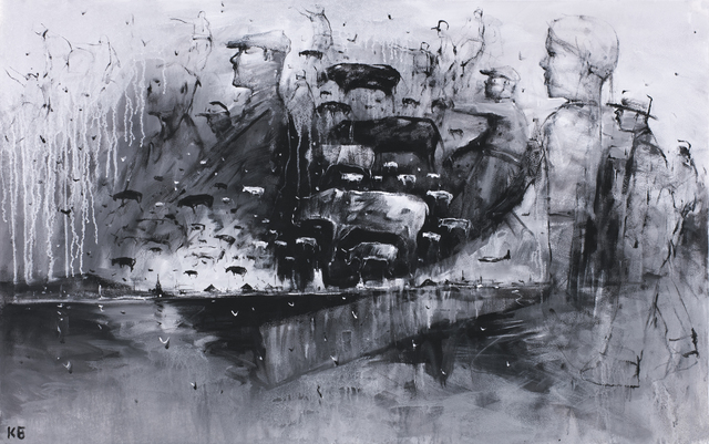 "Konstantin Batynkov, '""Life is all around us 3""', 2019, Krokin Gallery"