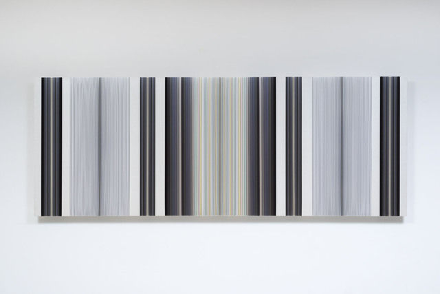 , 'Untitled (Vertical Grey),' 2016, PRAZ-DELAVALLADE