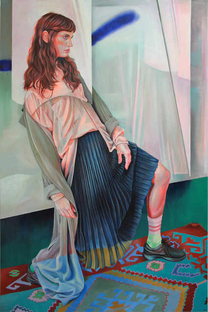 Martine Johanna, 'Composure', 2020, Painting, Acrylic on linen, Massey Klein Gallery