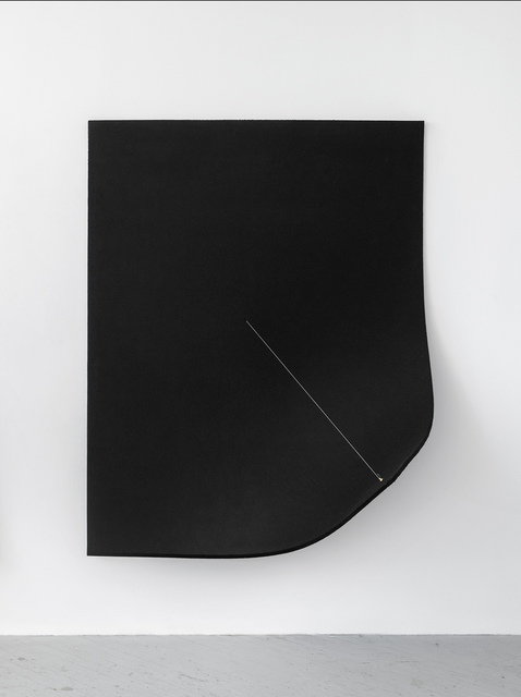 , 'Work On Felt (Variation 10) Black,' 2016, Shulamit Nazarian