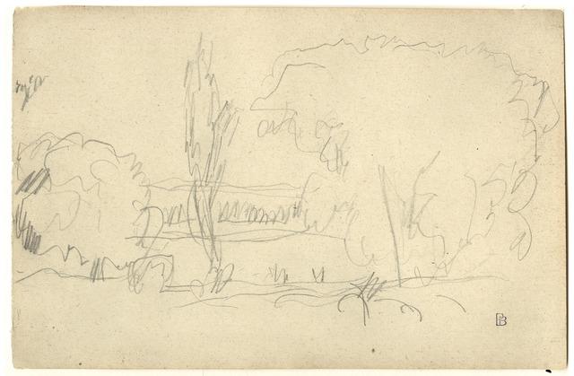 , 'Bords de rivière,' ca. 1917, Pace/MacGill Gallery