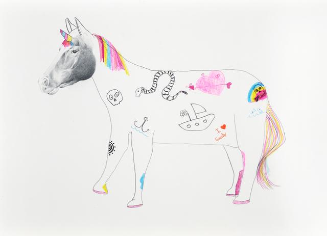 , 'Unicornio rebelde,' 2018, Galerie C.O.A