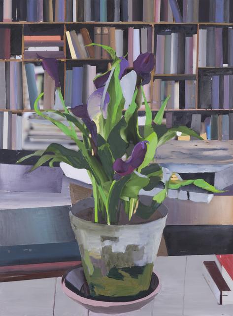Erik A. Frandsen, 'The Exact Distance Between Flower and Bookshelf V', 2017, Hans Alf Gallery