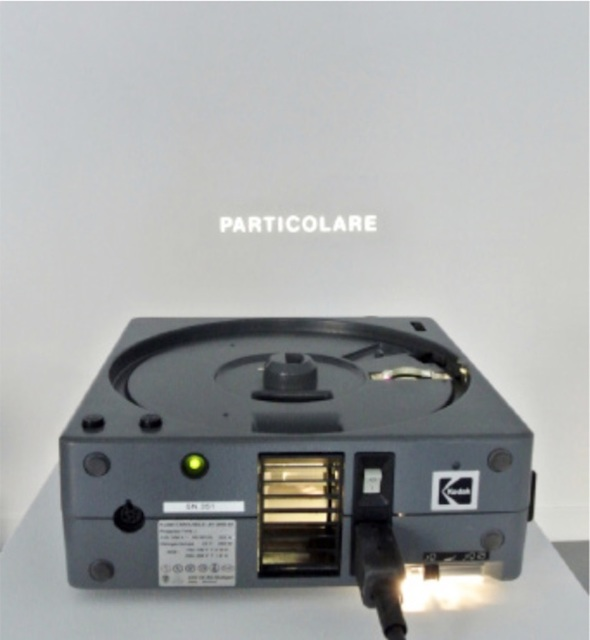 Giovanni Anselmo, 'Particolare', Installation, Vistamare/Vistamarestudio