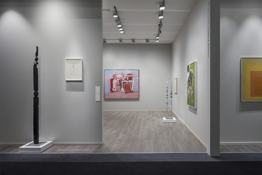 Installation view, TEFAF New York Spring, Booth 25, Drill Hall, Park Avenue Armory, 643 Park Avenue, New York NY,  4 – 8 May 2018 Photo: Timothy Doyon