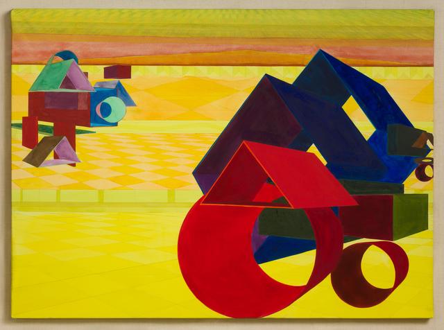 , 'Plaza III,' 1991, David Klein Gallery