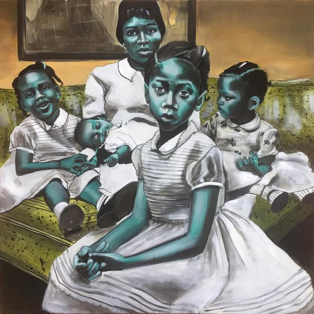 Charlotta Janssen, 'Betty and Her Daughters', 2017, Richard Beavers Gallery