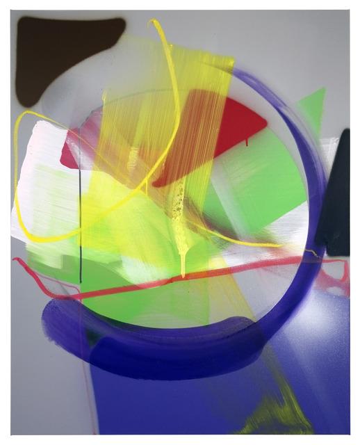 , 'UNTITLED (GREY LIGHT / CIRCLE),' 2015, KOLLY GALLERY