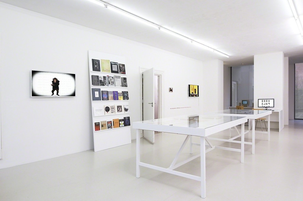 Installation view: Vilém Flusser earliest manuscripts and publications