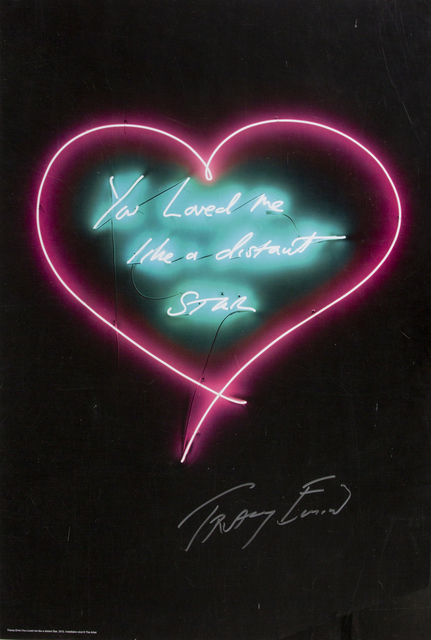 Tracey Emin, 'You Loved Me Like A Distant Star', 2012, Julien's Auctions