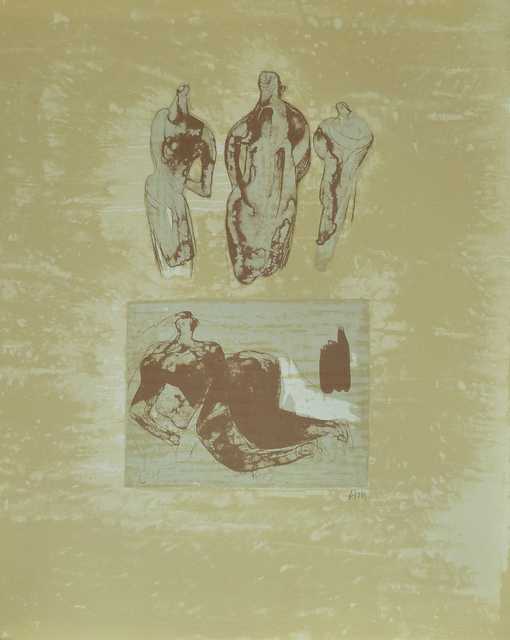 Henry Moore, ' Ideas from a Sketchbook, from: Poetry | La Poésie', 1973, Gilden's Art Gallery