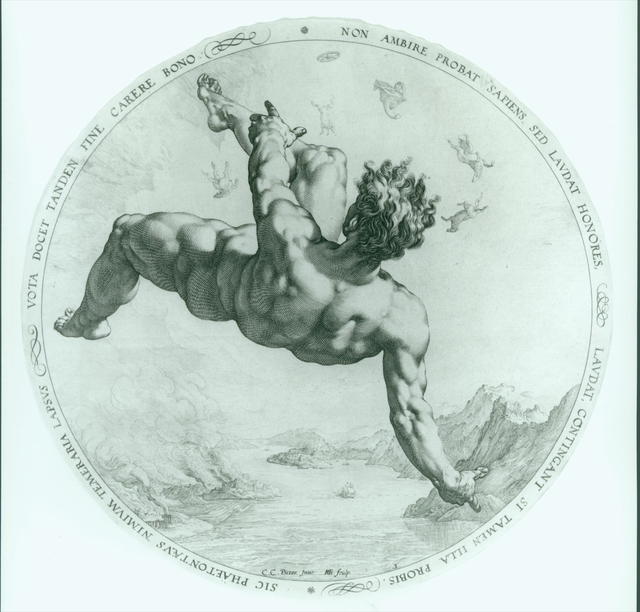 , 'Phaeton,' 1588, Bowdoin College Museum of Art