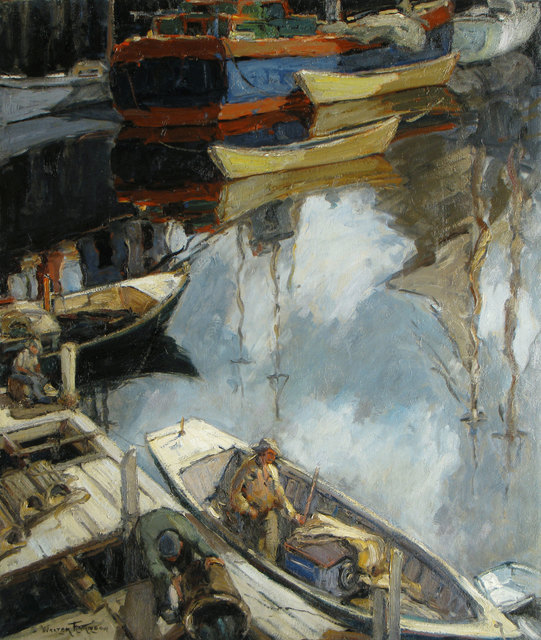 Walter Farndon, 'Half Moon', 19th -20th Century, Vose Galleries