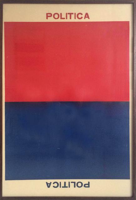 , 'Qui commande? (politica),' 2001, Del Infinito