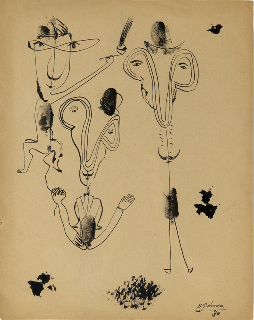 , 'Composición surrealista,' 1930, N2 Galería