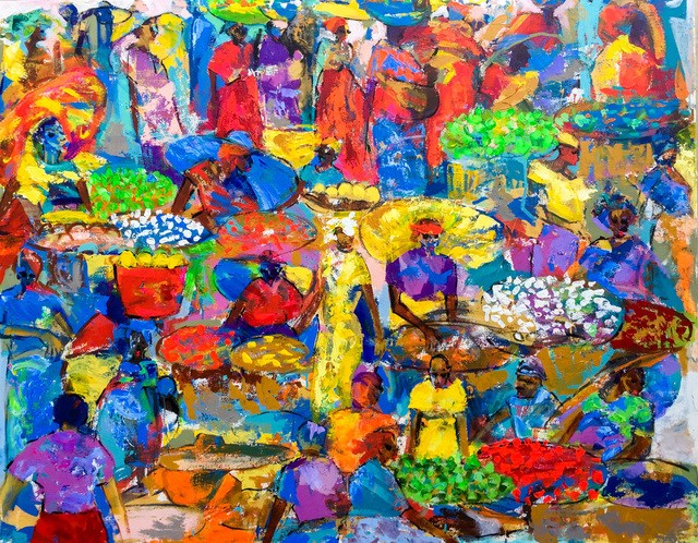 , 'Market Colours,' 2017, Out of Africa Gallery