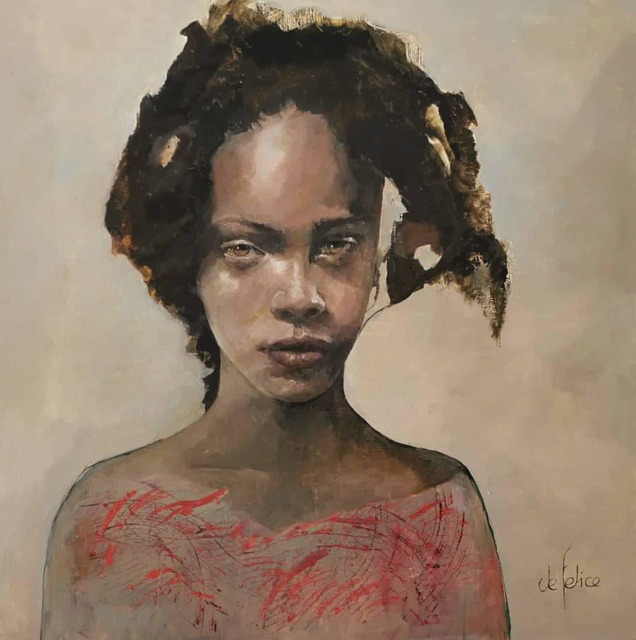, 'Portrait de femme III,' 2020, Galerie Calderone