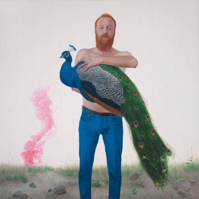 , 'Myth III The Angel Peacock,' 2017, RJD Gallery
