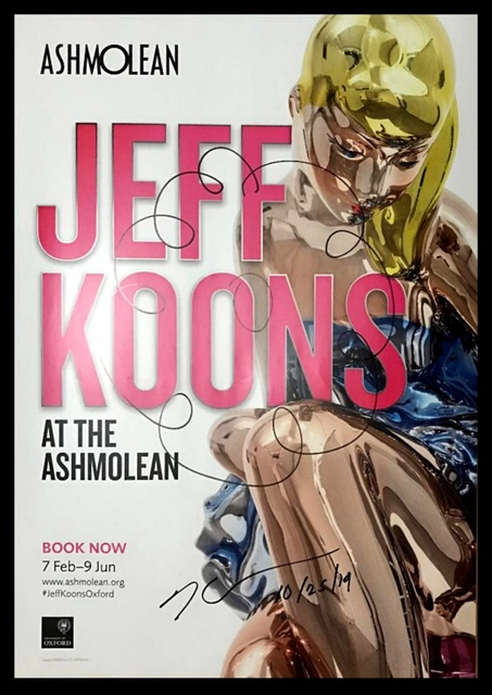 Jeff Koons, 'Original Flower Drawing on Ashmolean print', 2019, Alpha 137 Gallery