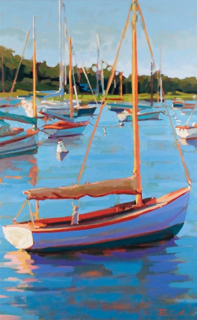 , 'Day Harbor,' , LaMantia Fine Art Inc.