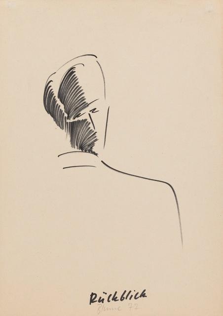 , 'Rückblick,' 1977, Riva di Morcote Fine Arts
