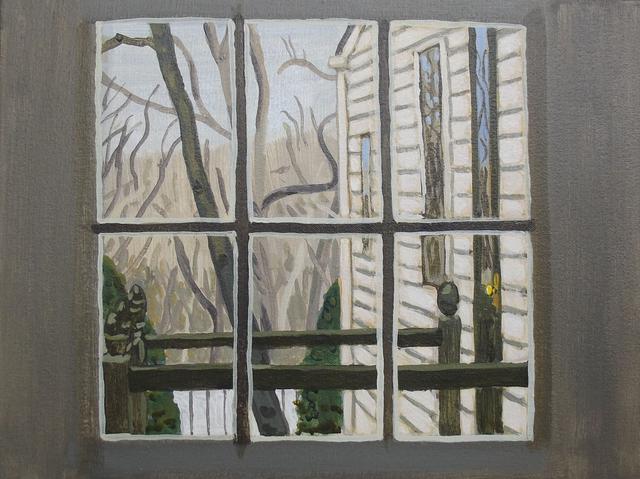 , 'Mom and Dad's Kitchen Window,' 2016, Tayloe Piggott Gallery