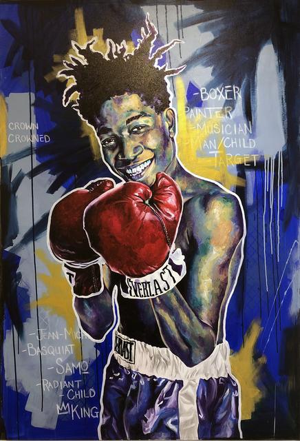 Robert Peterson (b.1981), 'SAMO (Basquiat)', 2019, Bruce Lurie Gallery