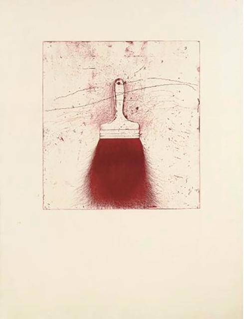 Jim Dine, 'Red Beard', 1973, Jim Kempner Fine Art