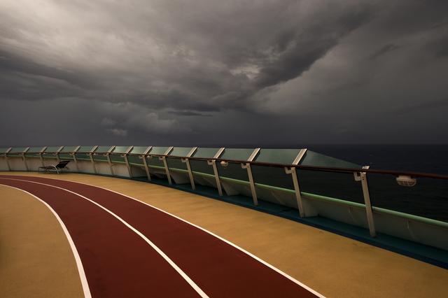 , 'Jogging Track on the Sea,' 2012, Faur Zsofi Gallery