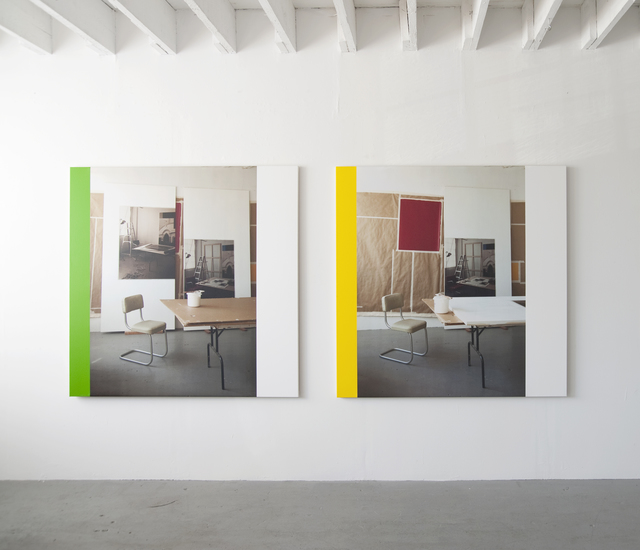 , 'In The Studio (Work in Progress) I & II,' 1996-2013, Jessica Silverman Gallery