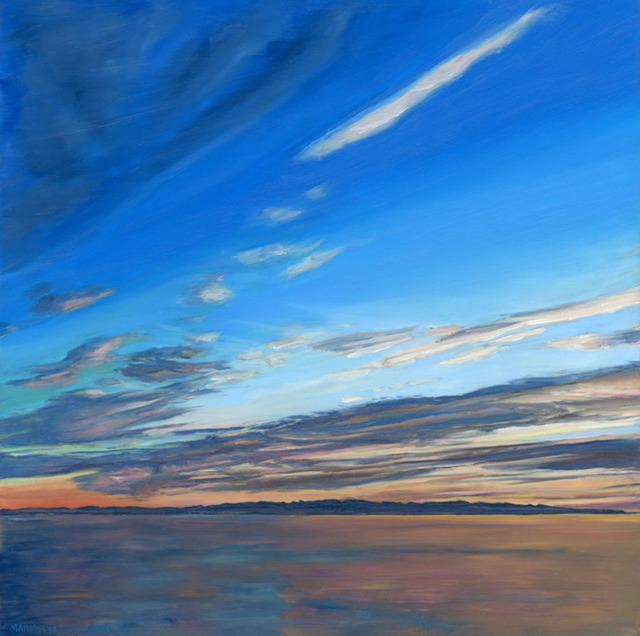 , 'Channel Islands Afterglow,' 2016, Sue Greenwood Fine Art