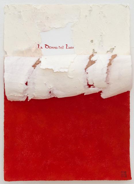 , 'Wound La Donna del Lago,' 2014, Josée Bienvenu