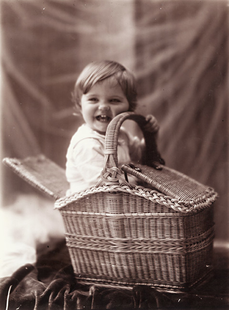 Léonard Misonne, 'One of the Photographer's Sons and a Picnic Basket', 1890s, Contemporary Works/Vintage Works