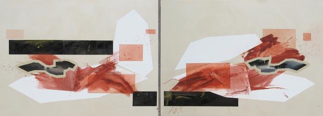 Trevor Kiernander, 'Transatlantic (pas de deux) - Diptych', 2014, Art Mûr