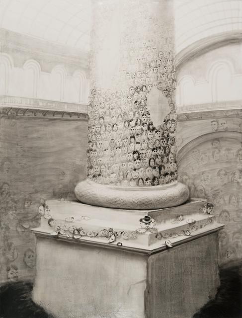 , 'Column,' 2014, HDM Gallery