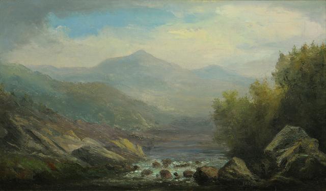 John White Allen Scott, 'Wildcat Brook, Jackson, New Hampshire', 19th -20th Century, Vose Galleries