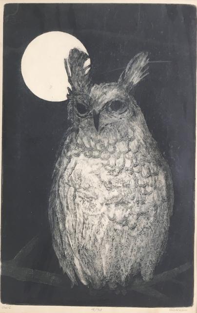 , 'Owl,' Late 20th c., Bakker Gallery