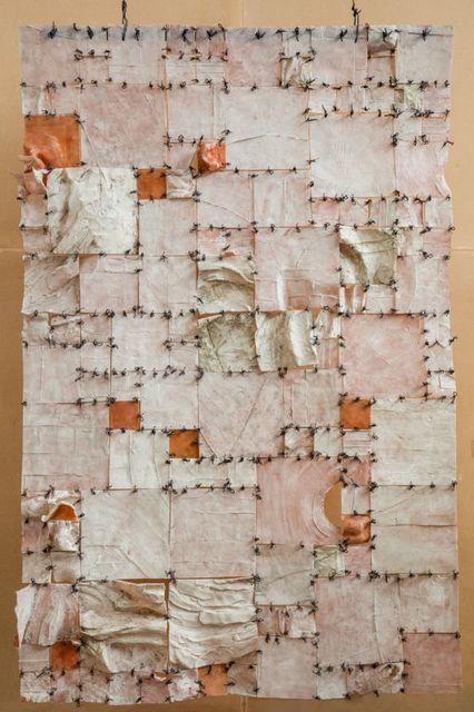 , 'Relieve Cuadritos,' 2016, Terreno Baldío