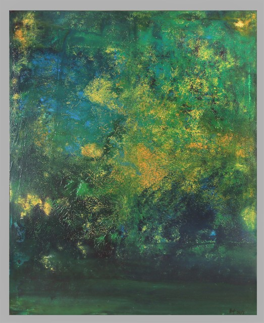 , 'Green, Air, Water No.2,' 2018, Tsubakiyama Gallery