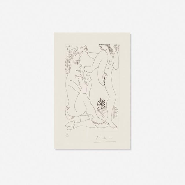Pablo Picasso, 'Faune et Bacchante, avec Combat de Faunes (from Series 347)', 1968, Rago/Wright