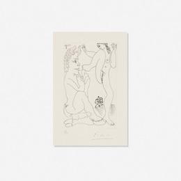 Pablo Picasso, 'Faune et Bacchante, avec Combat de Faunes (from Series 347),' 1968, Wright: Prints + Multiples (January 2017)