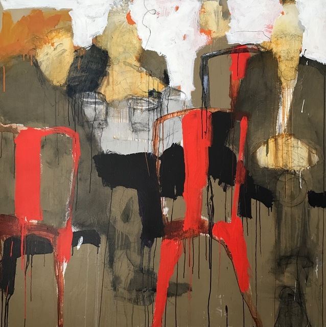 , 'Red Chairs,' , ÆRENA Galleries and Gardens