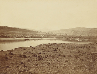 The Dalles, Oregon, from Rockland, Washington Territory