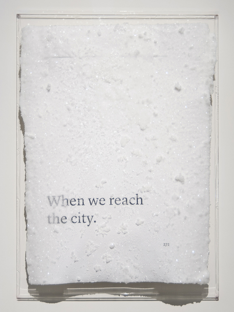 , 'When we reach the city.,' 2016, Blindspot Gallery