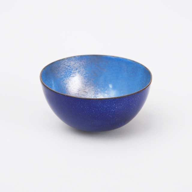 , 'Blue Enameled Bowl ,' 1950-1960, Patrick Parrish Gallery