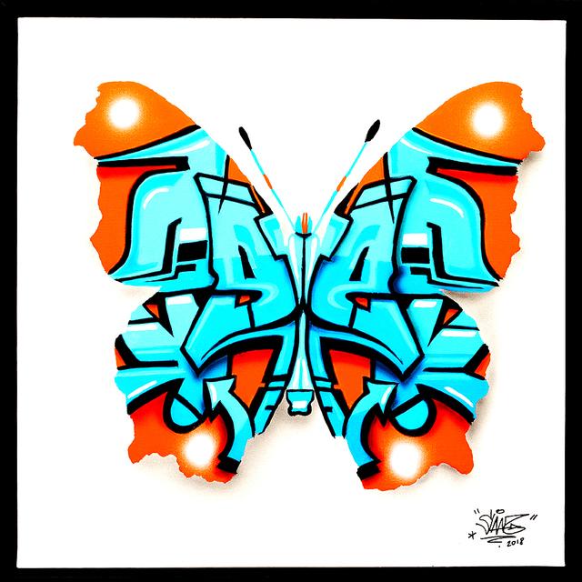, 'Urban Butterfly 3 Nemophosa,' 2018, Galerie Art Jingle